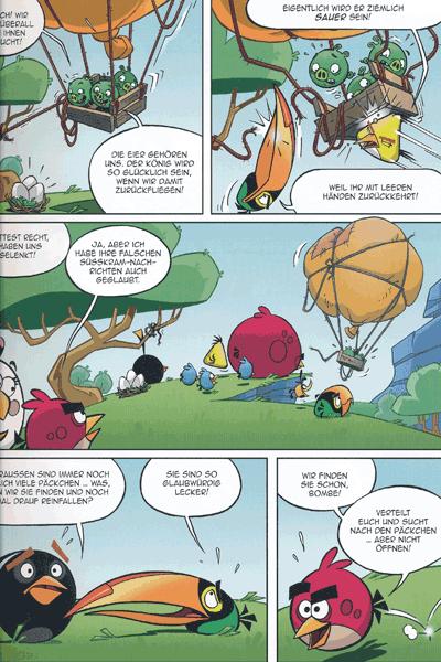 Leseprobe 2 von ANGRY BIRDS | Wütende Vögel, Band 2 - Schweine im Paradies