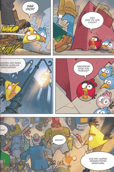 Leseprobe 3 von ANGRY BIRDS | Wütende Vögel, Band 3 - Santas kleiner Helfer