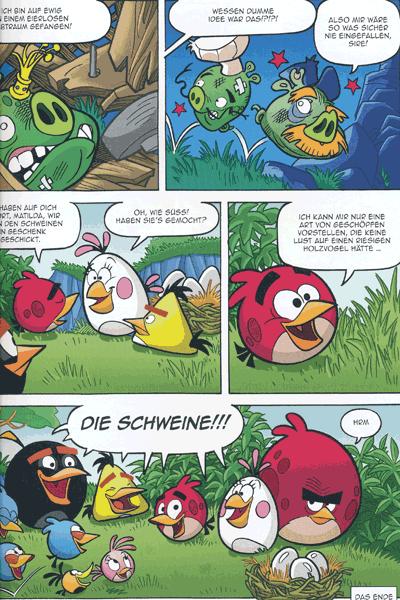 Leseprobe 2 von ANGRY BIRDS | Wütende Vögel, Band 4 - Der trojanische Adler