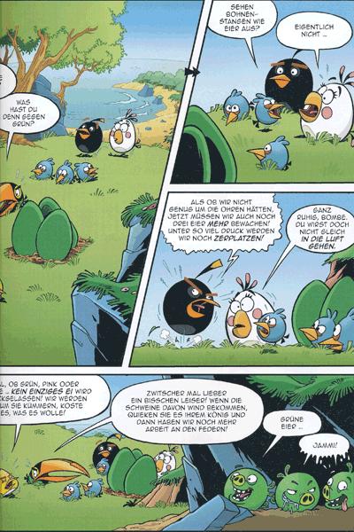 Leseprobe 3 von ANGRY BIRDS   Wütende Vögel, Band 5 - Gefiederte Feinde