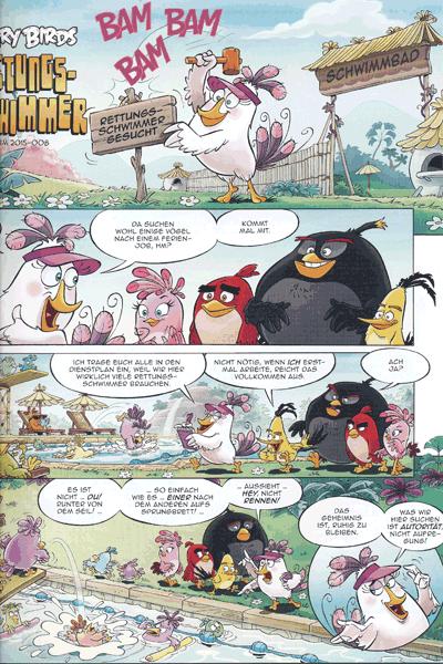 Leseprobe 3 von ANGRY BIRDS   Wütende Vögel - neue Abenteuer, Band 1 - RED sieht rot