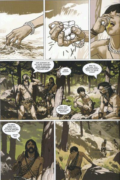 Leseprobe 1 von Mezolith, Band 1 -