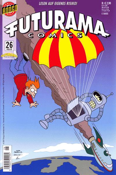 Futurama, Band 26 - Geschichten von zweierlei Interesse