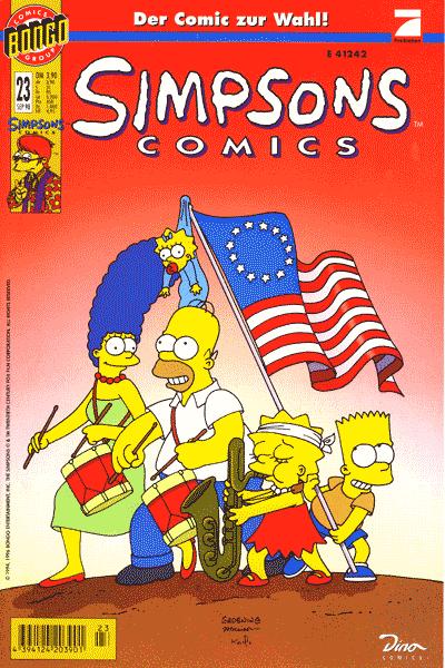 Leseprobe von Simpsons, Band 23 - Wahlzirkus in Springfield