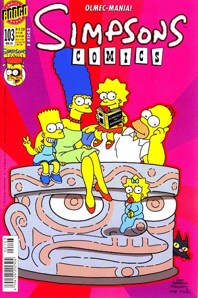 """Leseprobe von Simpsons, Band 103 - Die Rückkehr von Xt""""tapaltaketel"""