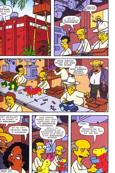 Leseprobe von Simpsons, Band 136 - Ein brandneuer Burns (2)