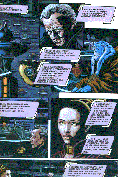 Leseprobe von Star Wars Episode II, Einzelband - Angriff der Klonkrieger