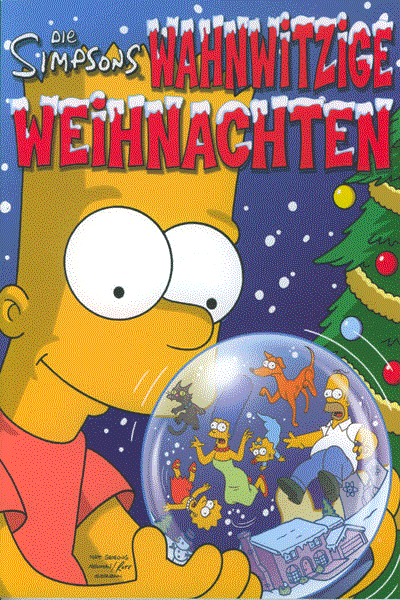 Simpsons Wahnwitzige Weihnachten, Einzelband - Wahnwitzige Weihnachten