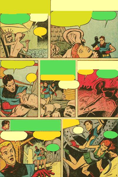 Leseprobe 1 von Fremde Welten (Strange Worlds, Space Detective), Band 7 - Die Weltraumgötter von Planetoid-50
