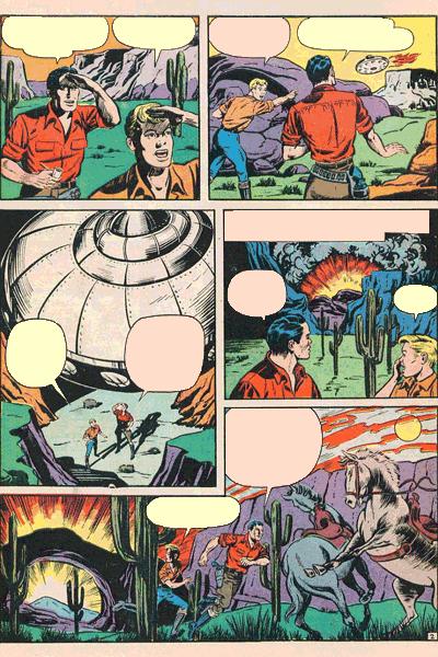 Leseprobe 1 von Fremde Welten (Strange Worlds, Space Detective), Band 9 - Die Verfolgung der Fliegenden Untertassen