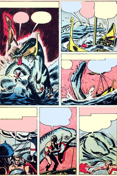 Leseprobe von Fremde Welten (Strange Worlds, Space Detective), Band 14 - Der Riese aus der Urzeit