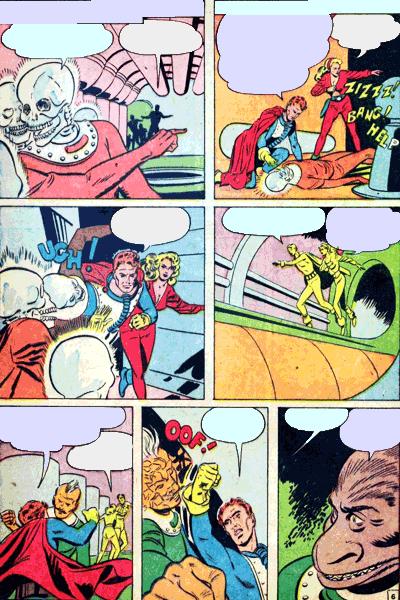 Leseprobe von Fremde Welten (Strange Worlds, Space Detective), Band 15 - Raumschiff der Toten