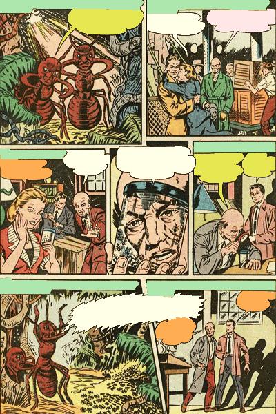 Leseprobe 1 von Verbotene Welten (Forbidden Worlds), Band 4 - Herr der Ameisen