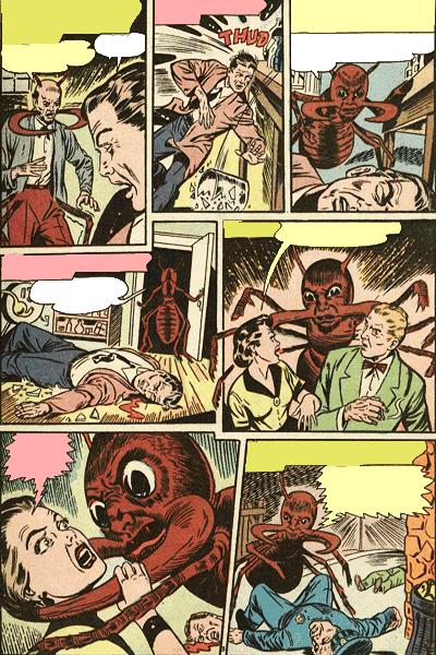 Leseprobe 2 von Verbotene Welten (Forbidden Worlds), Band 4 - Herr der Ameisen