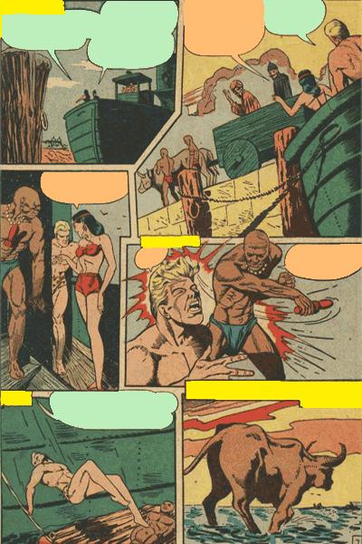Leseprobe 1 von KAÄNGA (Jungle Comics), Band 1 - Die Teufelskatzen von Salome