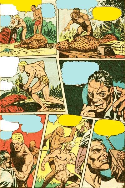 Leseprobe 2 von KAÄNGA (Jungle Comics), Band 1 - Die Teufelskatzen von Salome