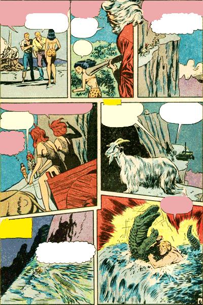 Leseprobe 2 von KAÄNGA (Jungle Comics), Band 2 - Die Teufelskatzen von Salome