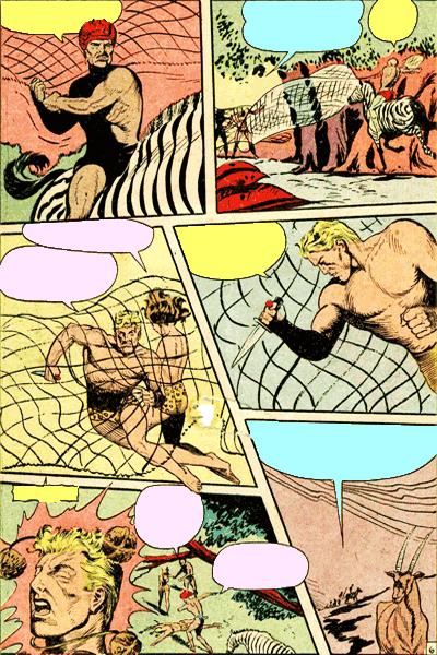 Leseprobe 1 von KAÄNGA (Jungle Comics), Band 4 - Der Horror Kraal dea Beinlosen