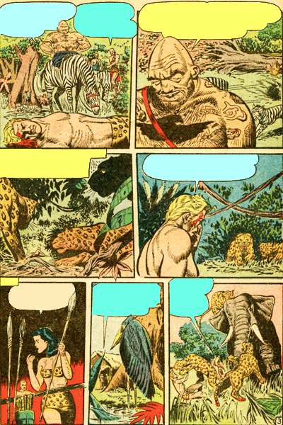 Leseprobe 2 von KAÄNGA (Jungle Comics), Band 4 - Der Horror Kraal dea Beinlosen