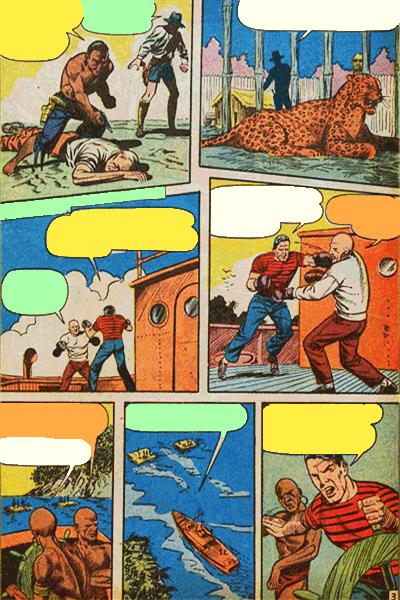 Leseprobe 2 von KAÄNGA (Jungle Comics), Band 8 - Das Schicksal des Medizinmanns