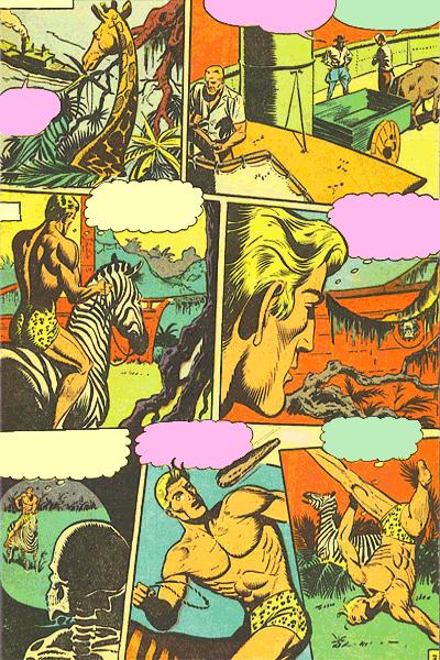 Leseprobe 1 von KAÄNGA (Jungle Comics), Band 11 - Die Phantome der verlorenen Lagune