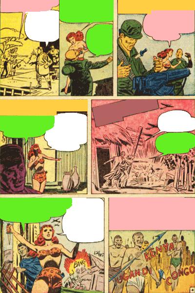 Leseprobe 1 von White PRINCESS of the Jungle, Band 3 - Die Armee des Schreckens