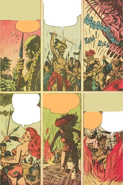 Leseprobe 1 von White PRINCESS of the Jungle, Band 4 - Die Kopfjäger von Bullah