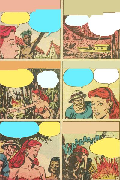 Leseprobe 3 von White PRINCESS of the Jungle, Band 4 - Die Kopfjäger von Bullah