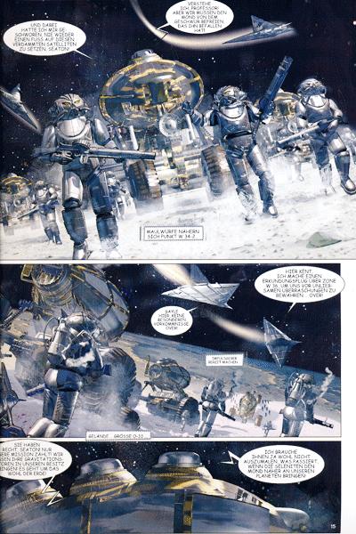 Leseprobe 2 von ROBUR, Band 3 - Reise zum Mittelpunkt des Mondes