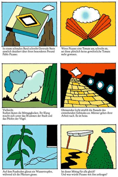 Leseprobe 4 von KASKADE comic, Einzelband - Stufenartige Eseleien im Bilderschwall