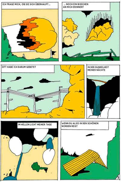 Leseprobe 5 von KASKADE comic, Einzelband - Stufenartige Eseleien im Bilderschwall
