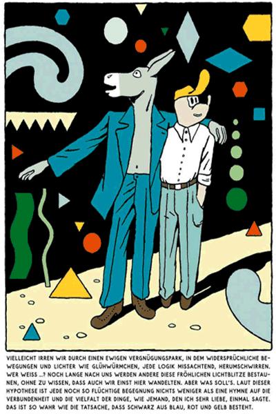 Leseprobe 7 von KASKADE comic, Einzelband - Stufenartige Eseleien im Bilderschwall