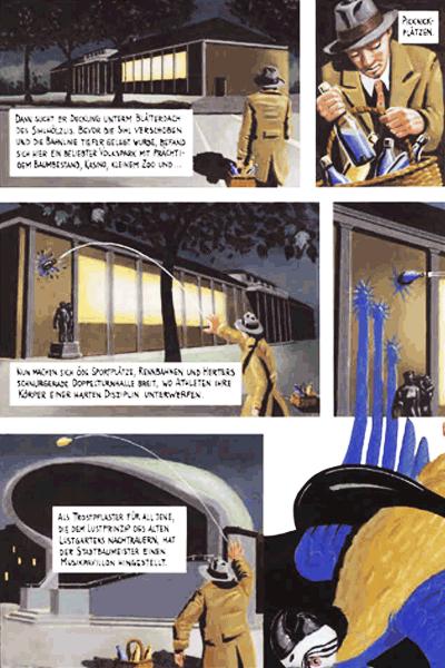 Leseprobe 1 von DER FARBANSCHLAG, Einzelband - Augusto Giacometti in der Bredouille
