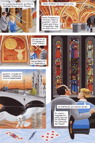 Leseprobe 3 von DER FARBANSCHLAG, Einzelband - Augusto Giacometti in der Bredouille