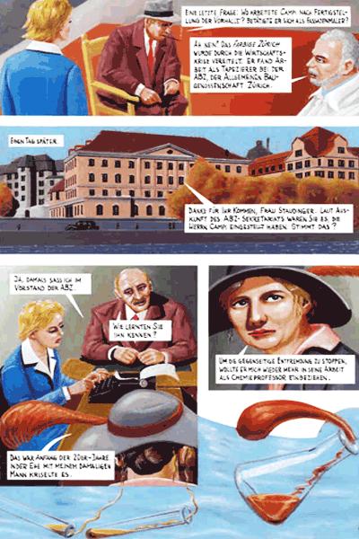 Leseprobe 5 von DER FARBANSCHLAG, Einzelband - Augusto Giacometti in der Bredouille