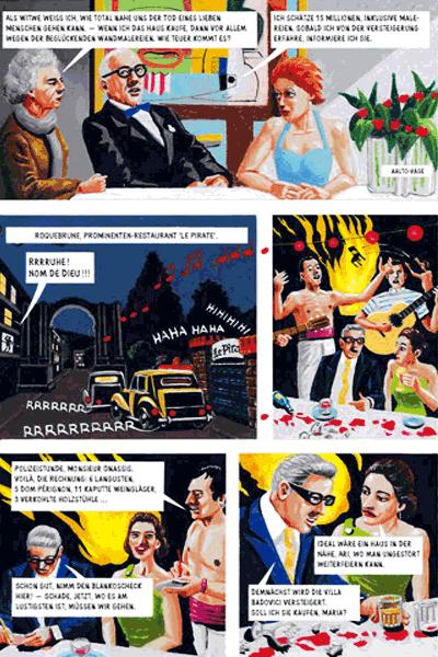 Leseprobe 3 von Der Pavillon, Einzelband - Mord an der Promenade Le Corbusier