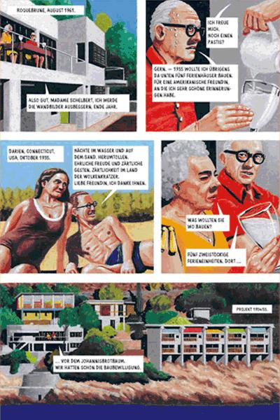 Leseprobe 4 von Der Pavillon, Einzelband - Mord an der Promenade Le Corbusier