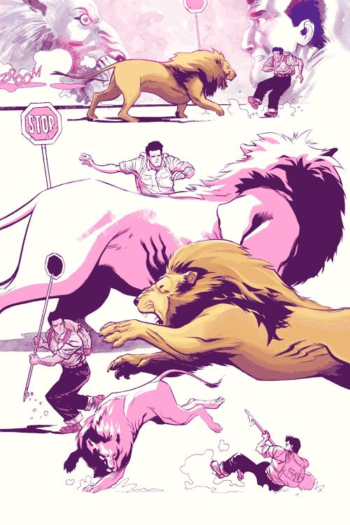 Leseprobe 3 von Jim Henson's Tale of Sand, Einzelband -