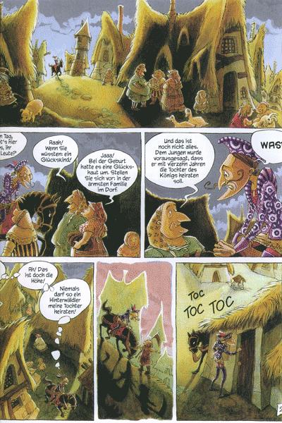 Leseprobe 2 von Grimms Märchen, Einzelband - Hänsel und Gretel, Das tapfere Schneiderlein