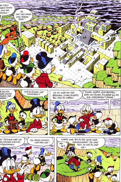 Leseprobe von Onkel Dagobert, Band 11 - Zur�ck ins Land der viereckigen Eier, . . .