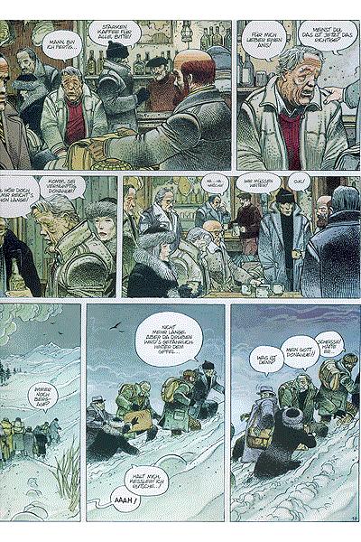 Leseprobe 1 von Bilal - Fins de Siecle, Einzelband - Der Schlaf der Vernunft, Treibjagd