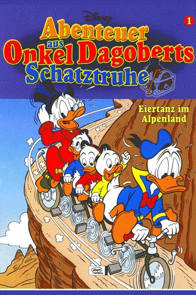 Leseprobe von Abenteuer aus Onkel Dagoberts Schatztruhe, Band 1 - Eiertanz im Alpenland