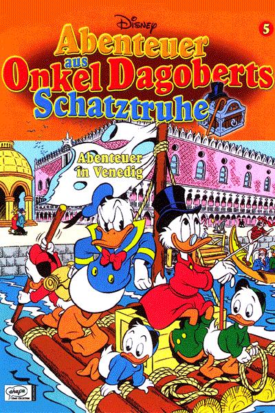 Leseprobe von Abenteuer aus Onkel Dagoberts Schatztruhe, Band 5 - Abenteuer in Venedig
