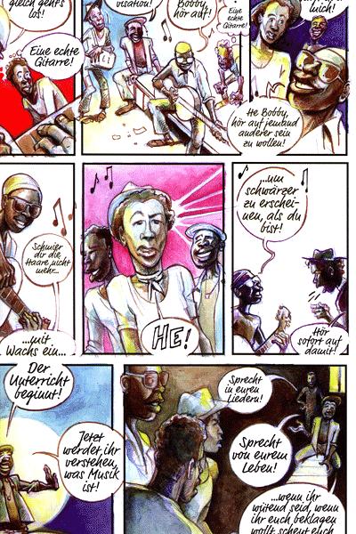 Leseprobe von BOB MARLEY, Einzelband - Die Legende der Wailers
