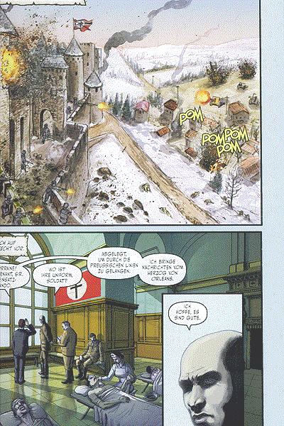 Leseprobe von Rex Mundi, Band 5 - Das Tal am Ende der Welt