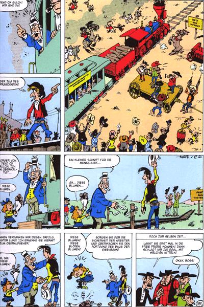 Leseprobe von Lucky Luke, Band 79 - Die Eisenbahn durch die Pr�rie