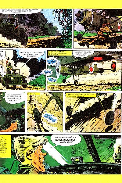 Leseprobe von Die Abenteuer von Tanguy und Laverdure Gesamtausgabe, Band 4 - Bedrohung auf Mururoa