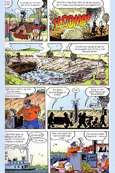 Leseprobe von Onkel Dagobert - Sein Leben, seine Milliarden, Einzelband - Die Biographie des Kapitalisten Dagobert Duck aus Entenhausen