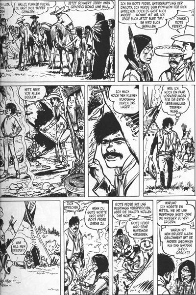 Leseprobe 1 von Jerry Spring Gesamtausgabe, Band 4 - Panchio - der Bandit,...