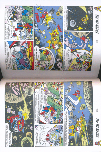 Leseprobe 1 von ENTHOLOGIEN, Band 12 - Enten im All - Donaldchens Mondfahrt